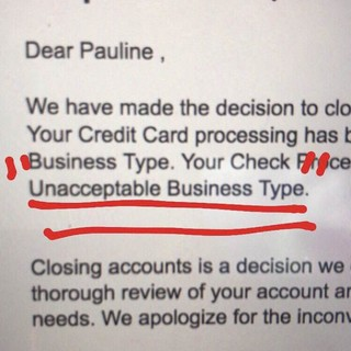 Intuit shut down business account
