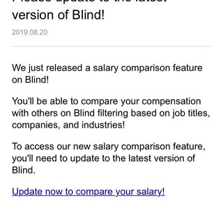 salary comparison on blind