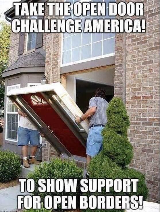 Who's taking the 'Open Door Challenge'?