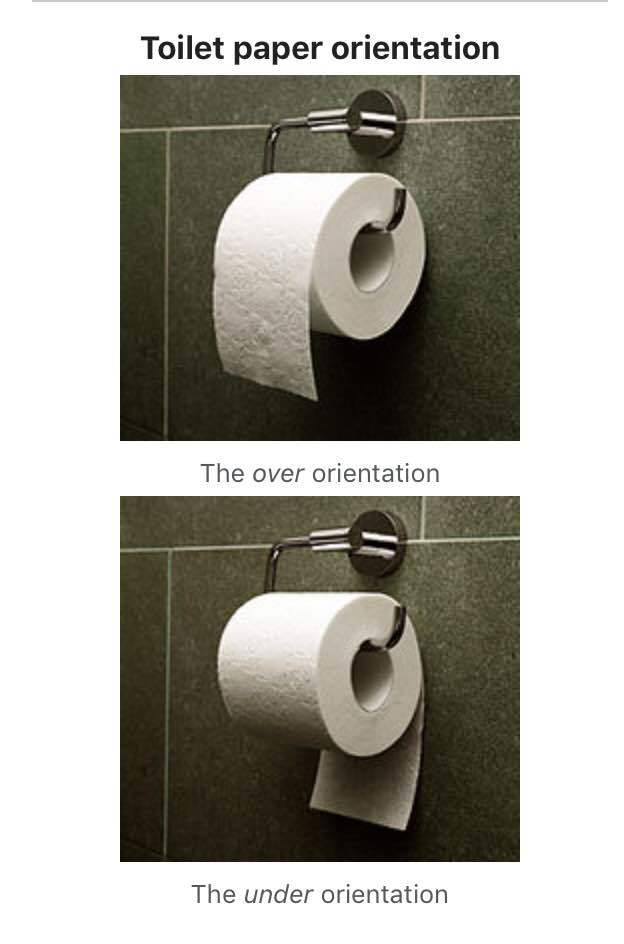 Tech Careers: Toilet paper controversy - Blind