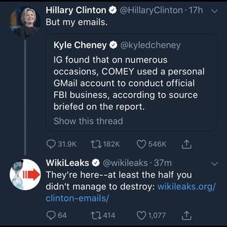 Oh Hilary...