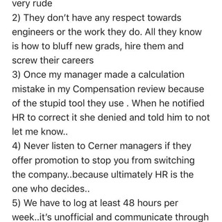 Cerner employees: does your HR actually suck?