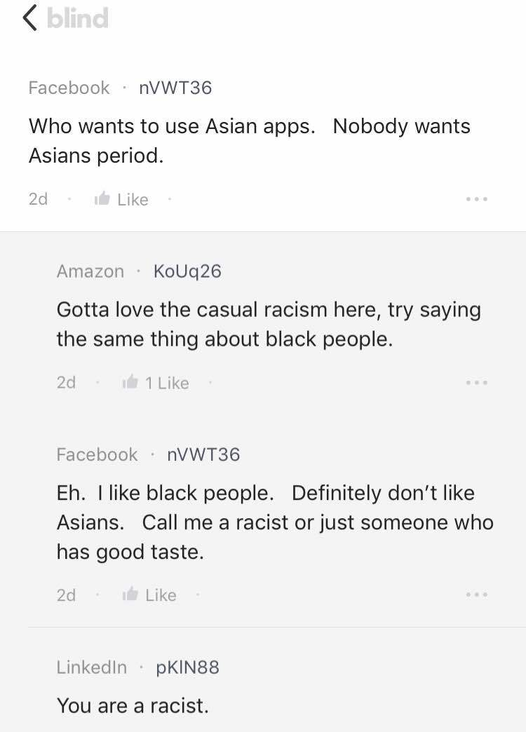 Is racist common in Facebook?