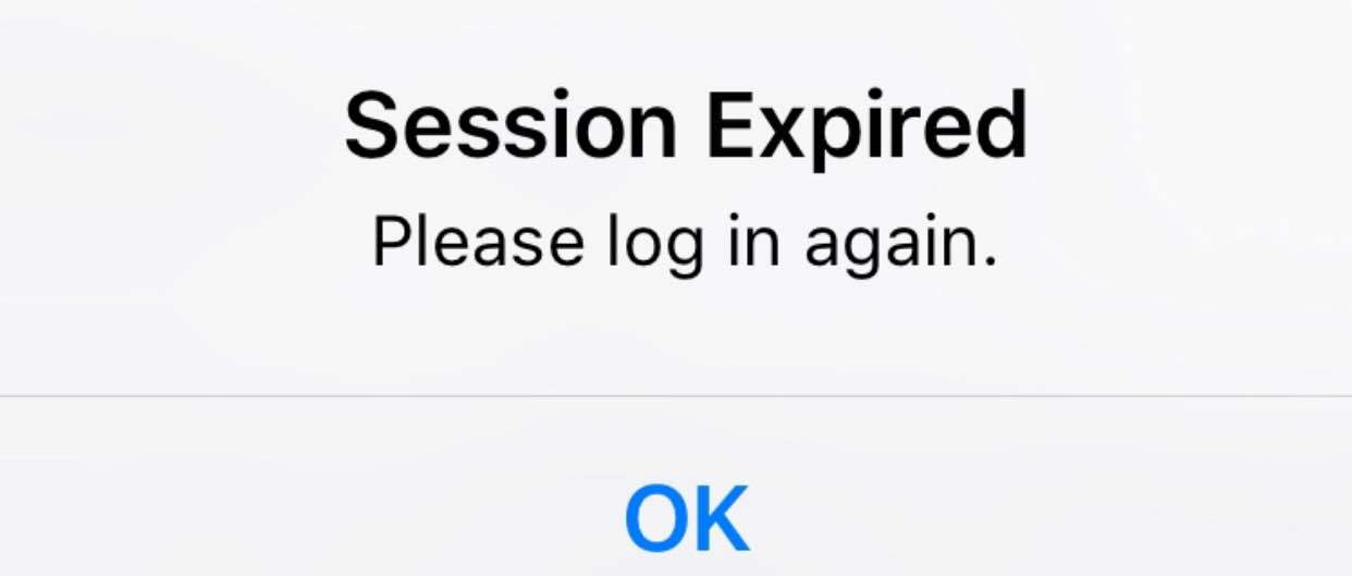 Facebook Session Expired