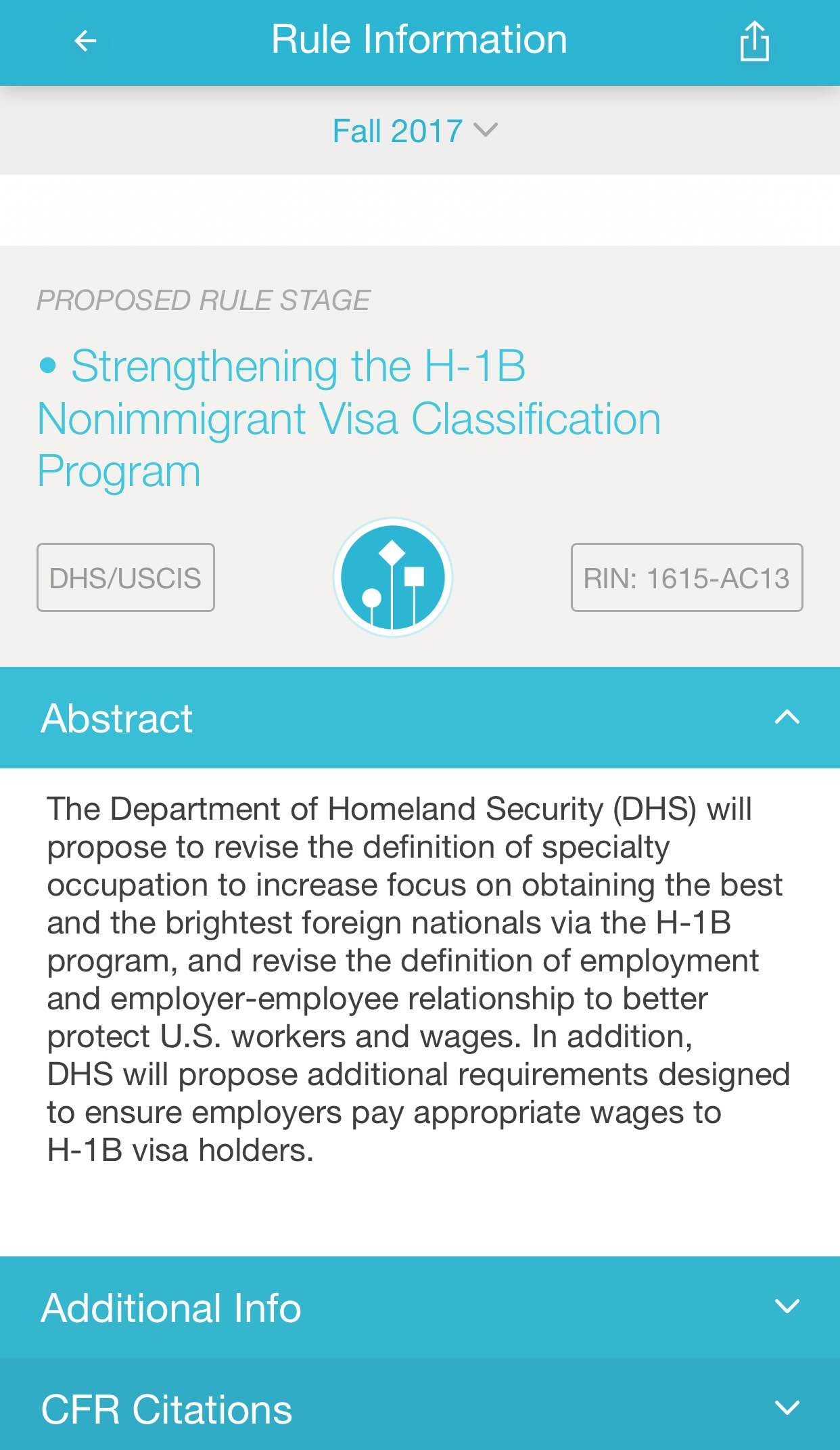 Work VISA: Can DHS remove current H1B occupations so that
