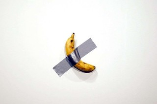 Can someone explain the $120K price for this banana and duct tape?