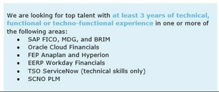 Deloitte is looking to hire for some of their urgent needs!!