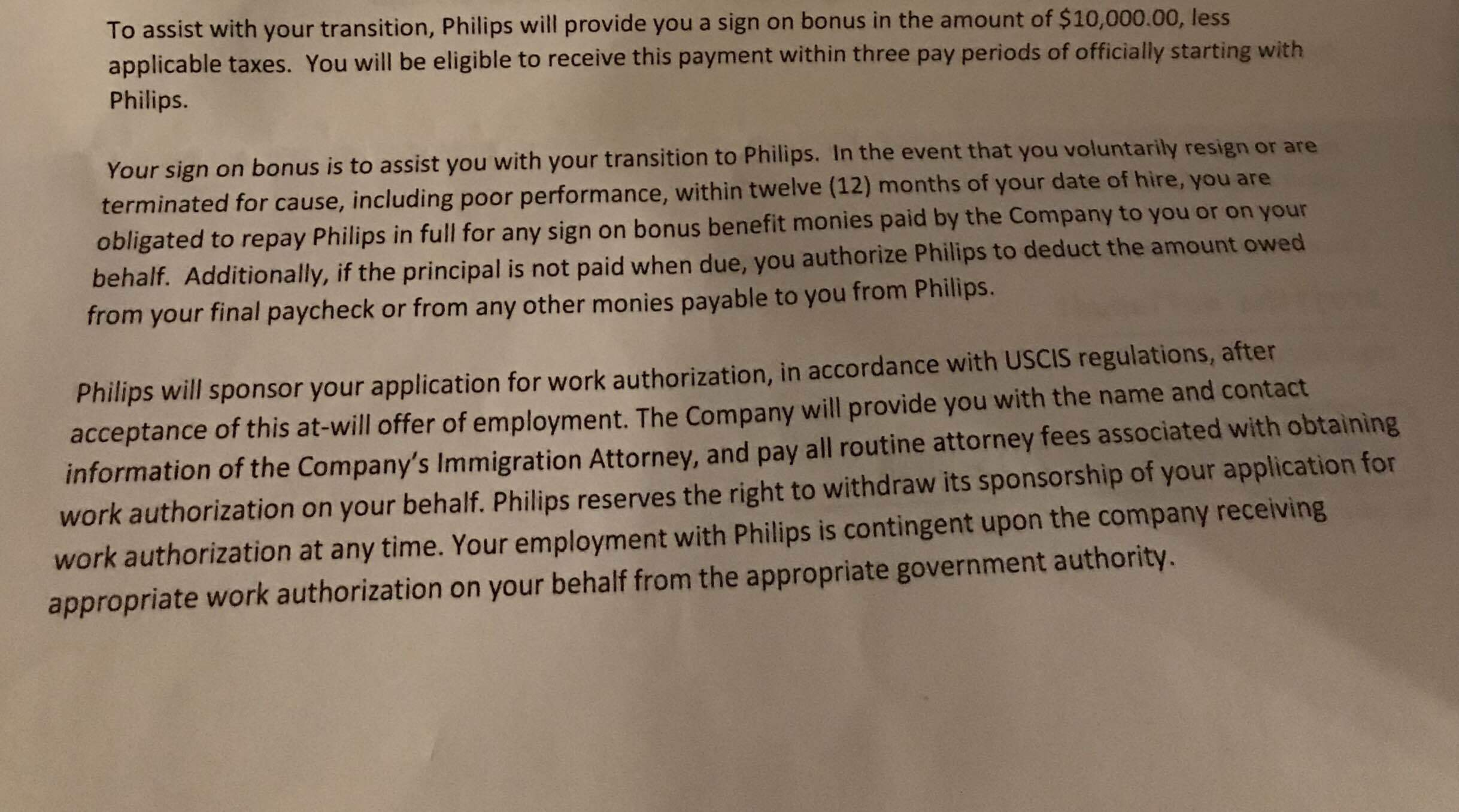 Compensation: A shitty company is asking me to payback