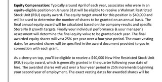 How much equity am I getting over 4 years?