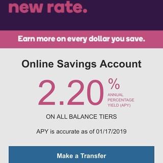 Ally bumps savings to 2.2%