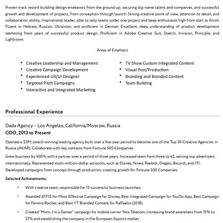Need Resume Review
