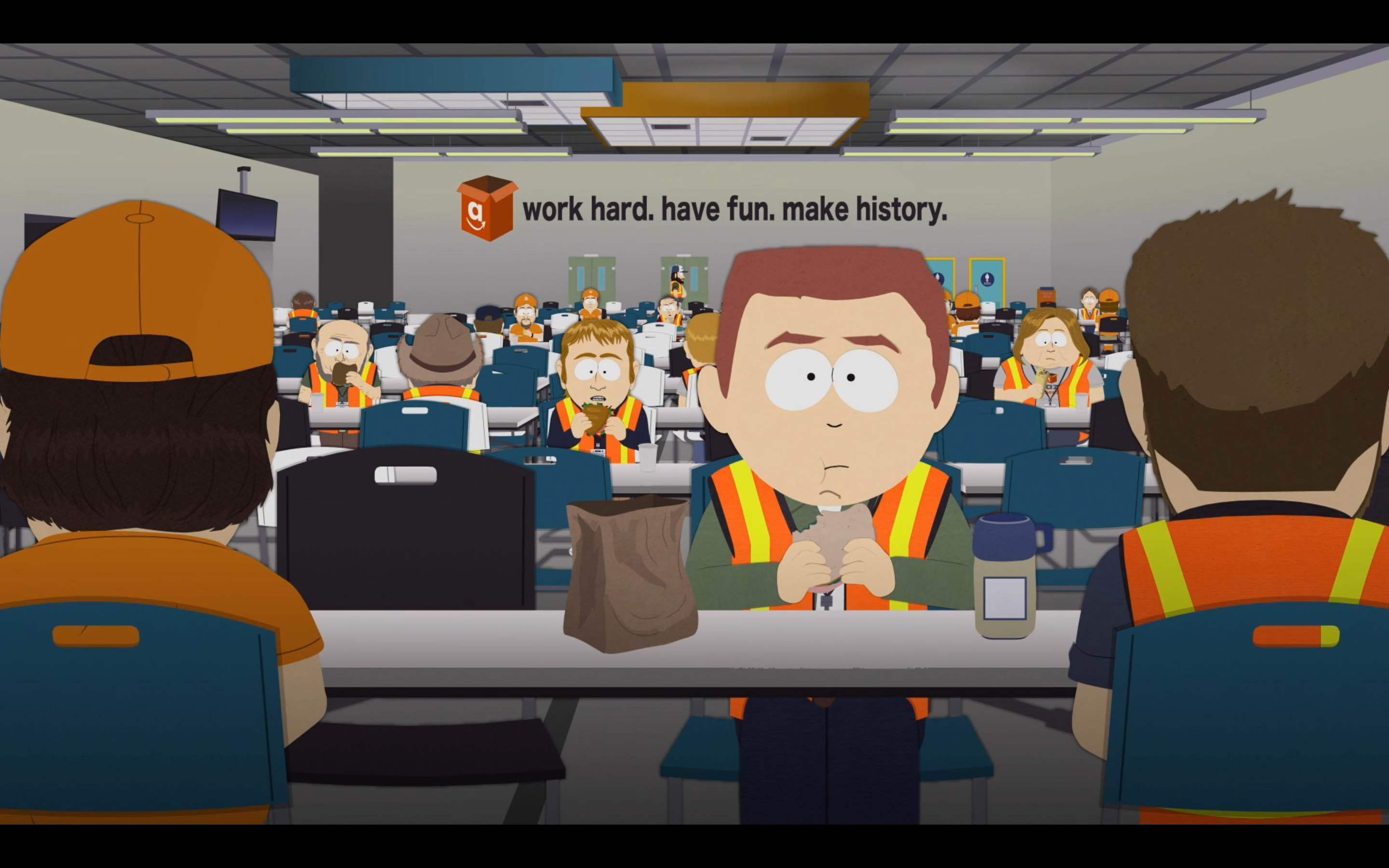 Guess what was the theme for tonight's South Park episode?