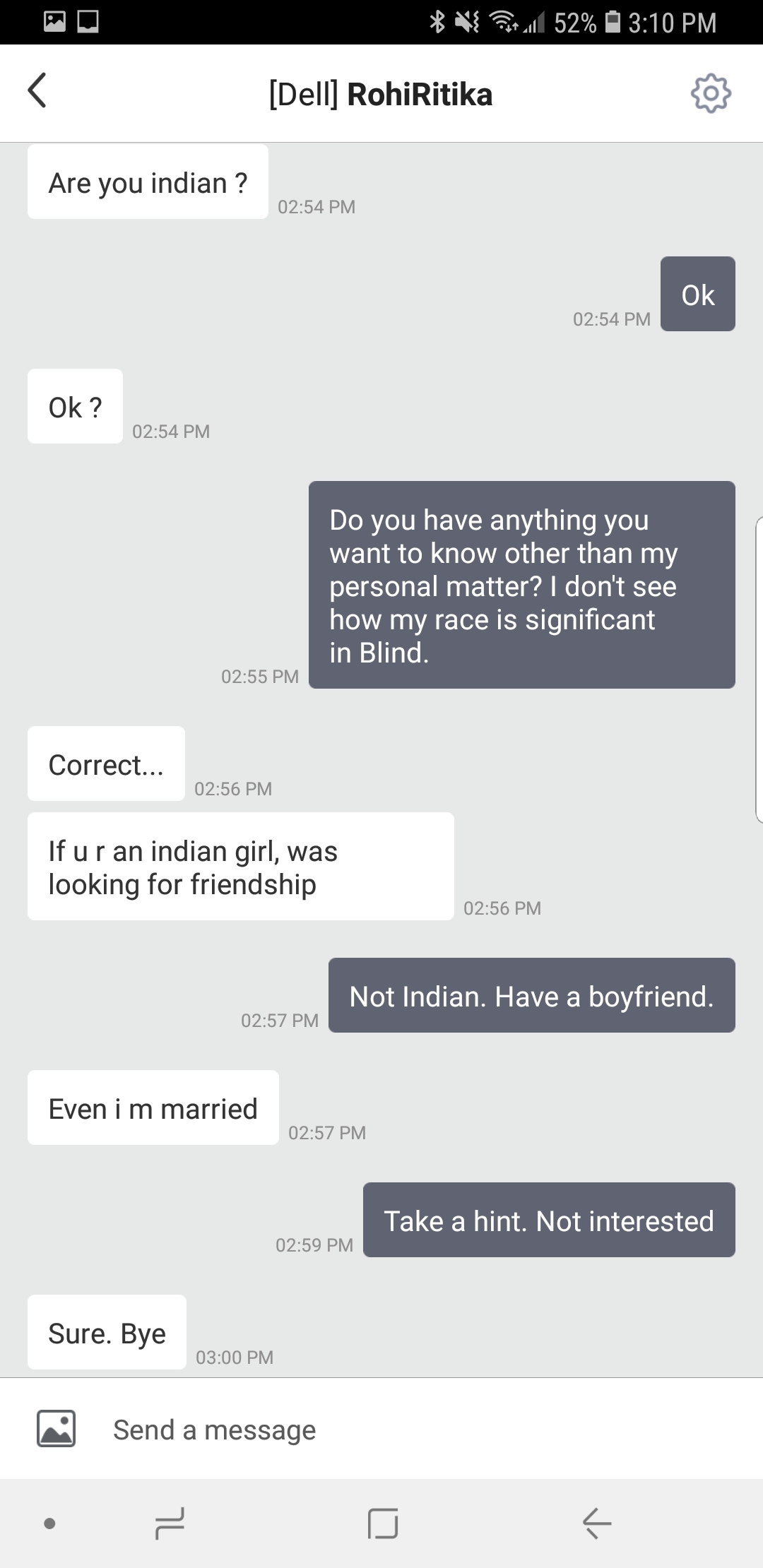 Seriously! Is Blind the new Tinder?