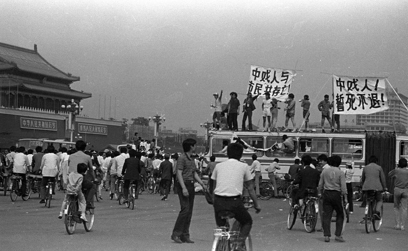 30 years ago today there was hope in China