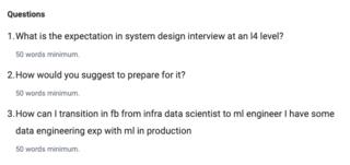 ML Engineer @Facebook @Google