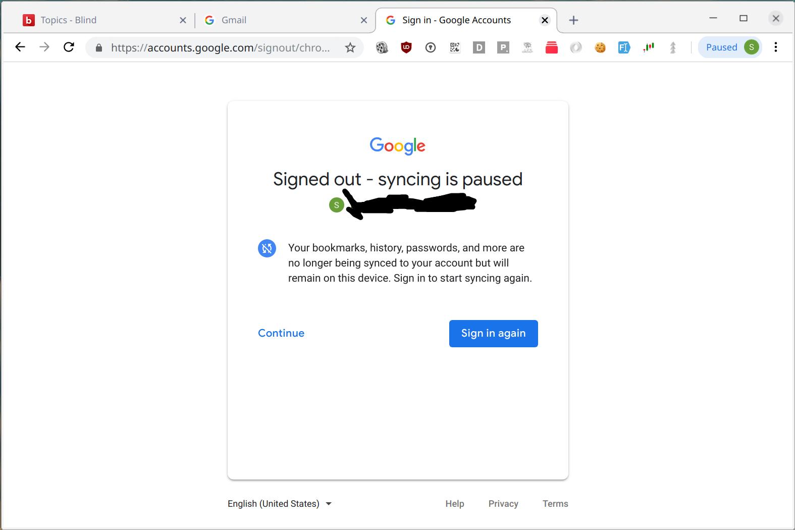 Impossibly dumb Google design