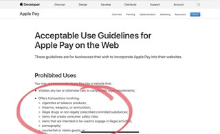 Wtf apply - no Juul, porn on Apple Pay