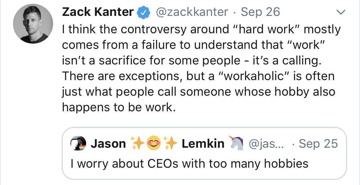 The great twitter CEO circlejerk